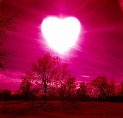 L'amour que je te porte, tel le soleil, illumine mon existence!
