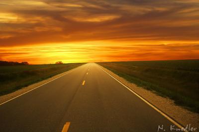N'emprunter que la belle voie qui se tient devant moi !
