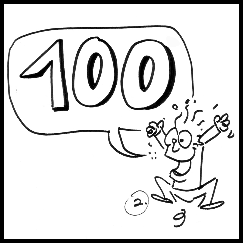 Jour 100 : Dimanche 30-10-11 dans A mon tendre Freesia ! 100-