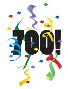 700 !