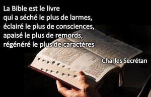 Bible - Sécrétan