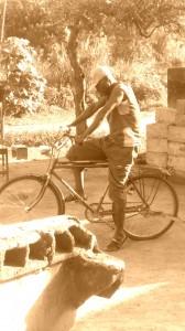 Papa à vélo !