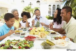 Repas en famille !