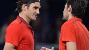 Federer vs Chardy - Bercy 2014 !