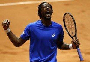 Monfils - finale Coupe Davis 2014 !